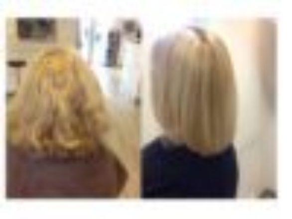 Een keratinebehandeling is geschikt voor elk haartype. Het maakt dus niet uit of je stijl haar hebt, haar met een slag erin, krullen of kroes haar.